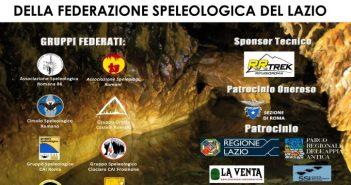 Manifesto convegno speleologia Lazio
