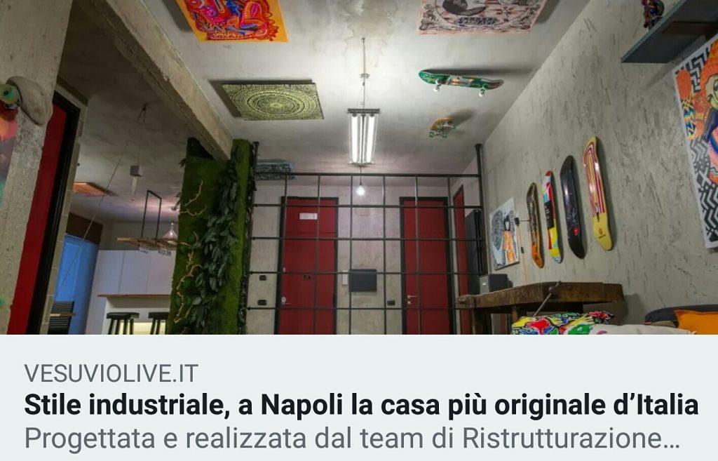 Case, è a Napoli la casa più originale d'Italia
