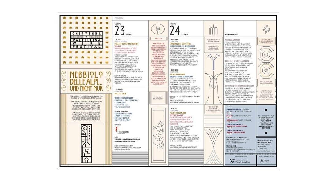 Cibo & Vino, arriva la prima edizione del 'Chiavenna Valtellina Wine Festival'