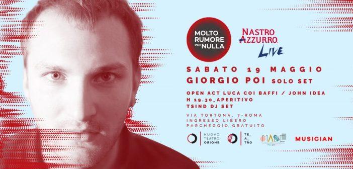 """Roma, al Teatro Orione Giorgio Poi chiude la stagione di """"Molto rumore per nulla"""""""