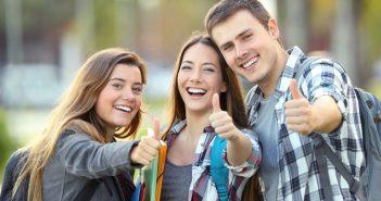 studente, studenti, studiare, studio, ragazzi, teenager