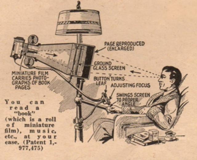 El iPad de 1935