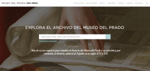 Explora el Archivo del Museo del Prado