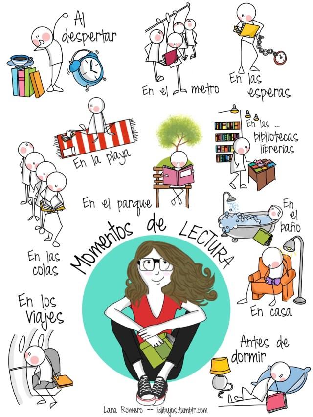 Momento de lectura (por Lara Romero)