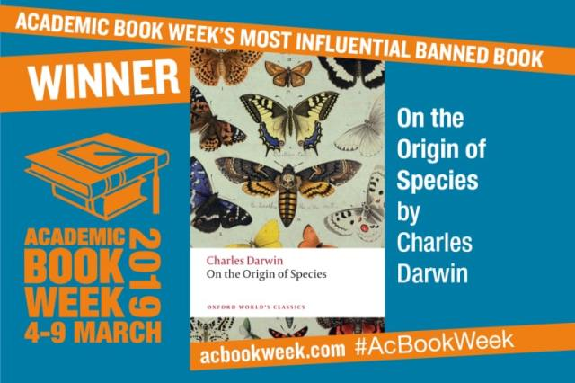 On the Origin of Species Crowned Most Influential Banned Book