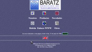 Web antigua de Baratz