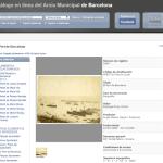 El catálogo online del Archivo Municipal de Barcelona ya disponible