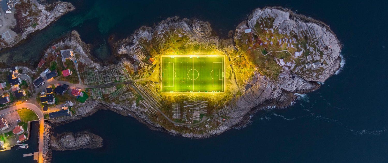 campo de fútbol más impresionante