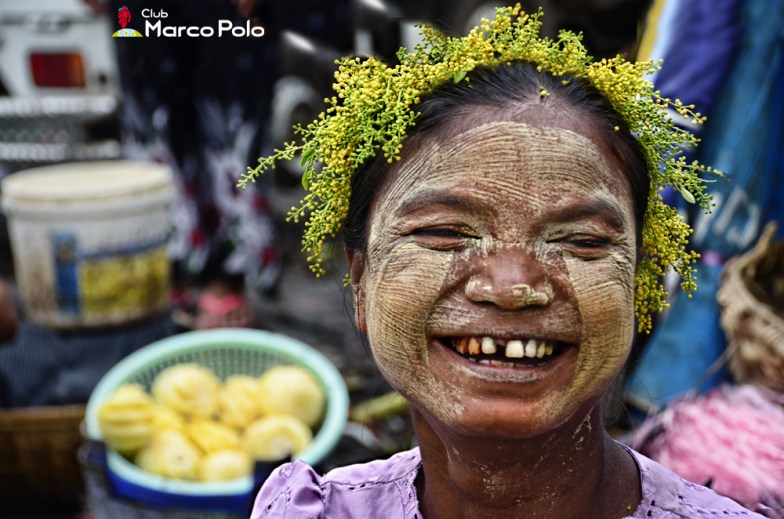 Retrato: Birmania Myanmar - Chere Luzzy