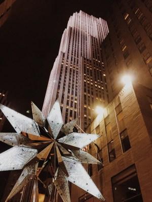 Rockefeller Center- de noche