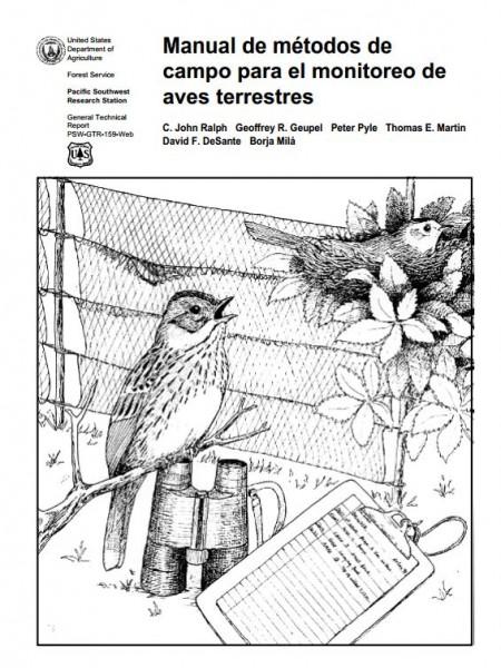 Manual de métodos de campo para el monitoreo de aves