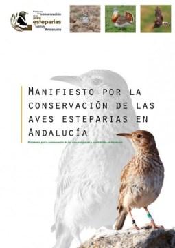 manifiesto por la conservación aves esteparias en andalucia
