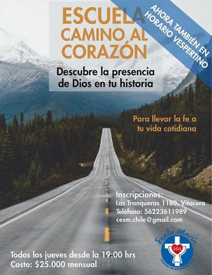 Escuela Camino al corazón Vespertina @ Vitacura | Región Metropolitana | Chile