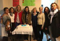 La filial de Venado Tuerto reunida para celebrar