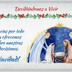 Navidad: ¡Decidiéndonos a vivir!
