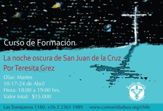 La noche oscura de San Juan de la Cruz- curso de formación @ Vitacura | Región Metropolitana | Chile