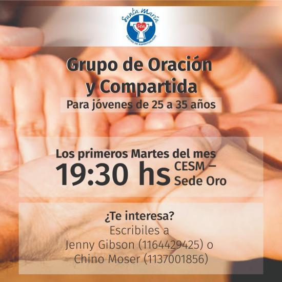Grupo de oración Jóvenes 25-35 @ Buenos Aires, ARG | Sede CESM