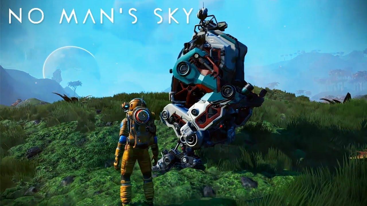 No Man's Sky recibe el Exo Mech. Una nueva manera de explorar planetas