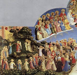 Juicio Final, Fray Ángélico, detalle