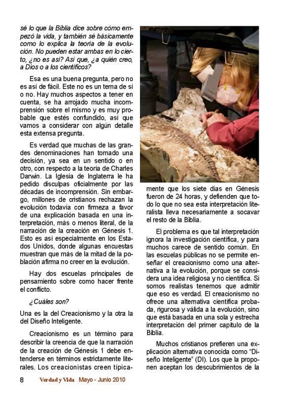 Creación y Evolución Página 2