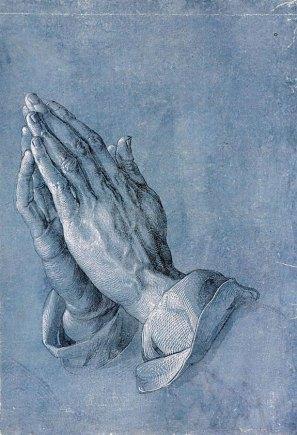 Praying-hands