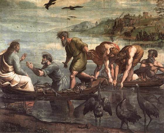 The Ultimate Fishing Story VA_-_Raphael_The_Miraculous_Draught_of_Fishes_1515