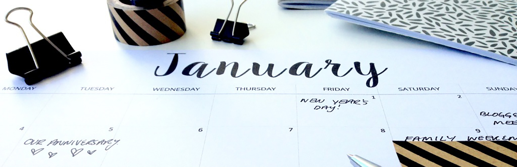 Calendarios gratuitos para planificar tu 2016