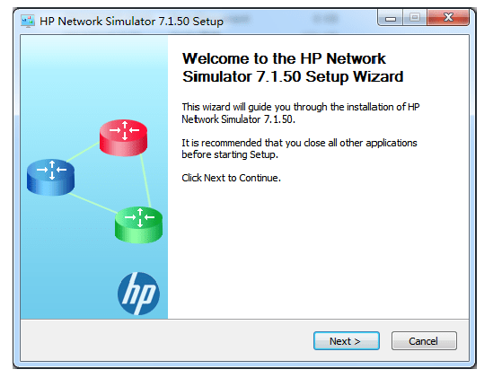 HP Network Simulator