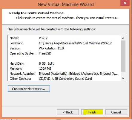 HP VSR instalar 17