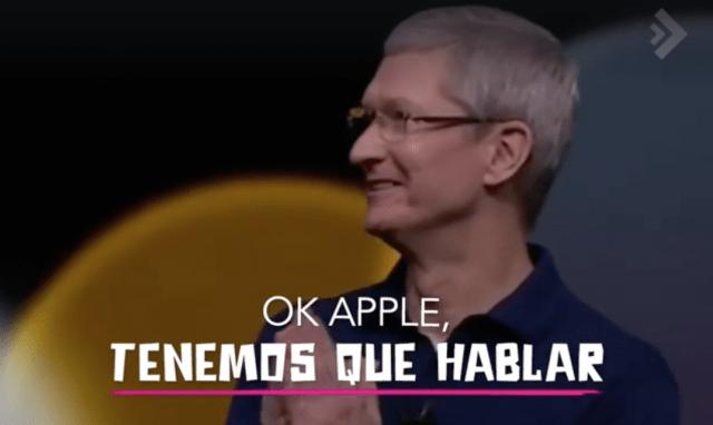 Video deddicado a Apple