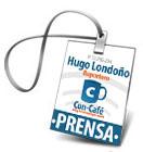 Carnet Prensa Hugo Londoño
