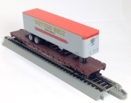 Cotton Belt Flat with Cotton Belt TrainerTrailer