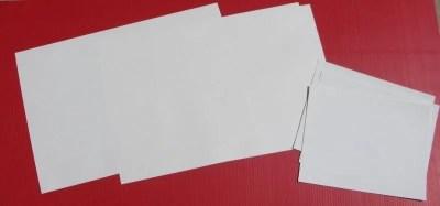 Klingables 16 pc 13x19 Woven Fabric Printer Paper 7-000005
