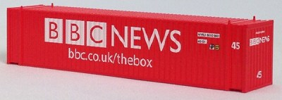 N 45 FT Corr Container BBC TV RED (02)