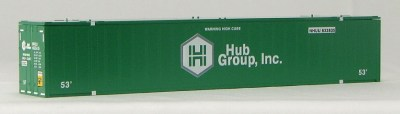 N 53 Ft Std Container  HUB GROUP (GREEN) 2PAK-1