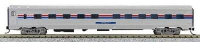 N Budd Amtrak Phase III Paint Scheme