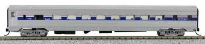 N Budd Amtrak Phase IV Paint Scheme