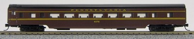 N Con-Cor Smooth Side Passenger Cars Pennsylvania, Tuscan Red (1-40021)