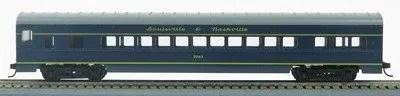 HO 72 Ft Passenger Car Coach #3362  L&N Pan American (L&N Blue/gold) (1-00900Q)