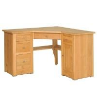 Quercus Oak Corner Office Desk - Con-Tempo Furniture