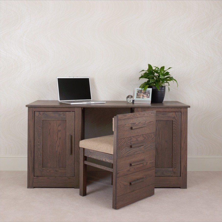 Ora office 15m Desk with hidden chair  ConTempo Furniture