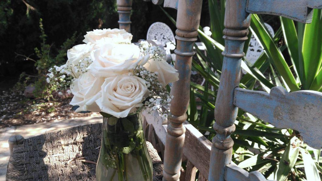 Flores blancas...