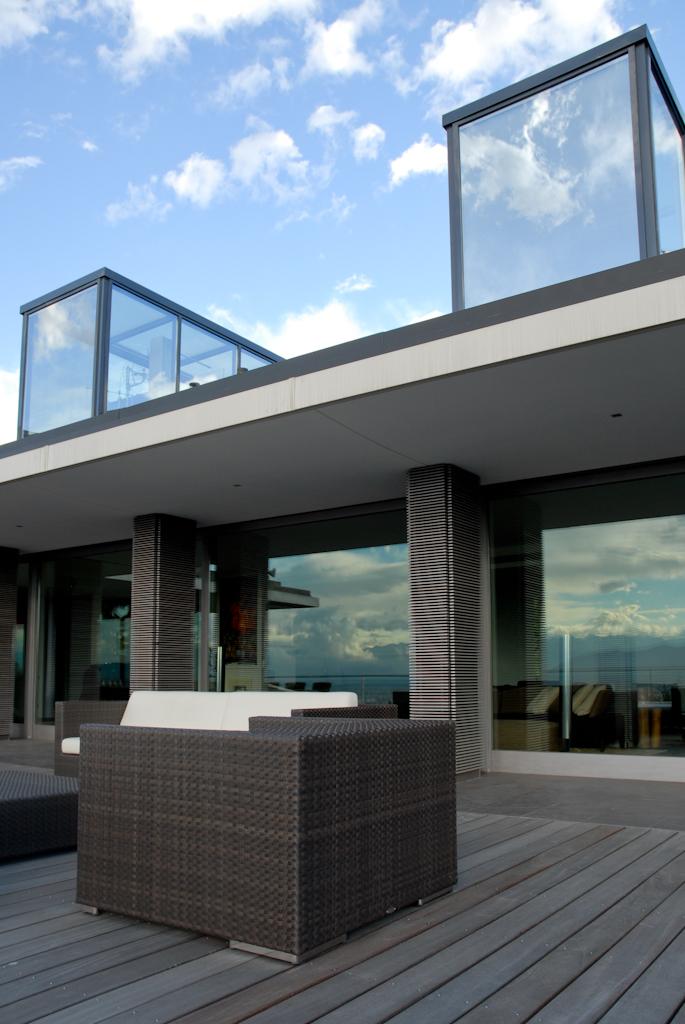 Progetto villa collina