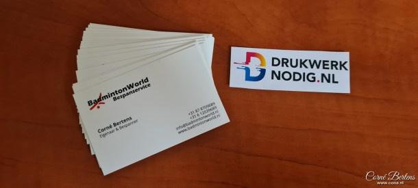 Visitekaartje drukwerknodig.nl