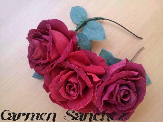 Mi corona de flores de Carmen Sanchez