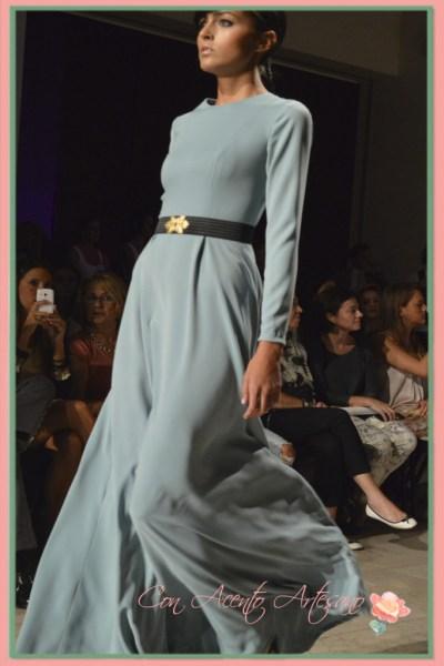 Vestido de Marta Aguado en la Code41Trending