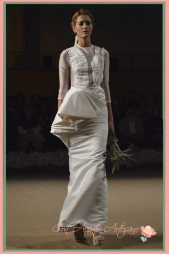 Vestido de novia Pilar Muratori en Novias del Sur, Sevilla de Boda 2014