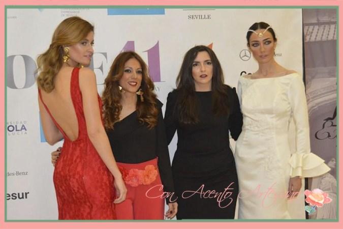 Con Margarita Muñoz y Lola Alcocer en Code41 Trending