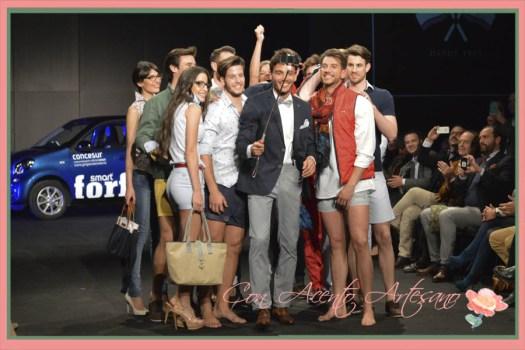 Selfie de Spagnolo Moda en la Code41 Trending