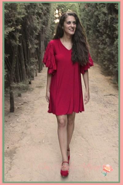 Vestido de Lapaca Costura modelo Cherry